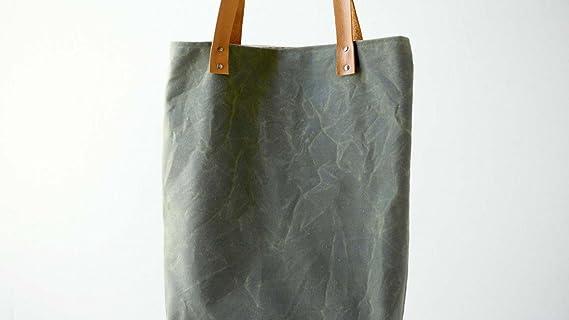 6ed511d9995 Amazon.com: Sew a Waxed Canvas Tote Bag: Fancy Tiger |Jaime Jennings ...