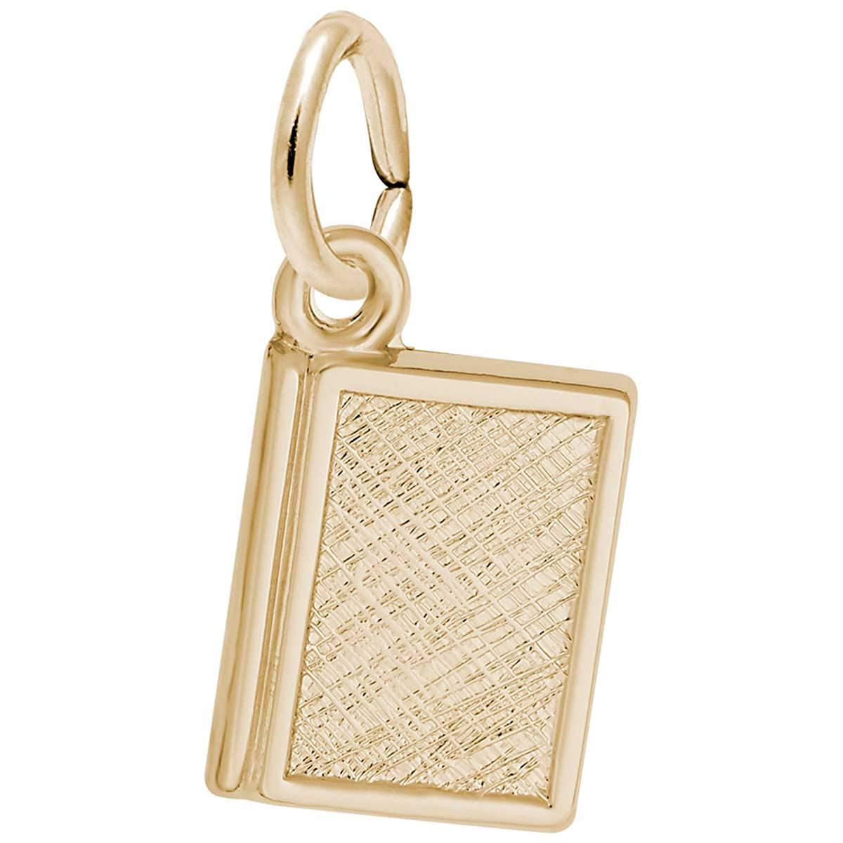 Rembrandt Charms Book Charm, 10K Yellow Gold