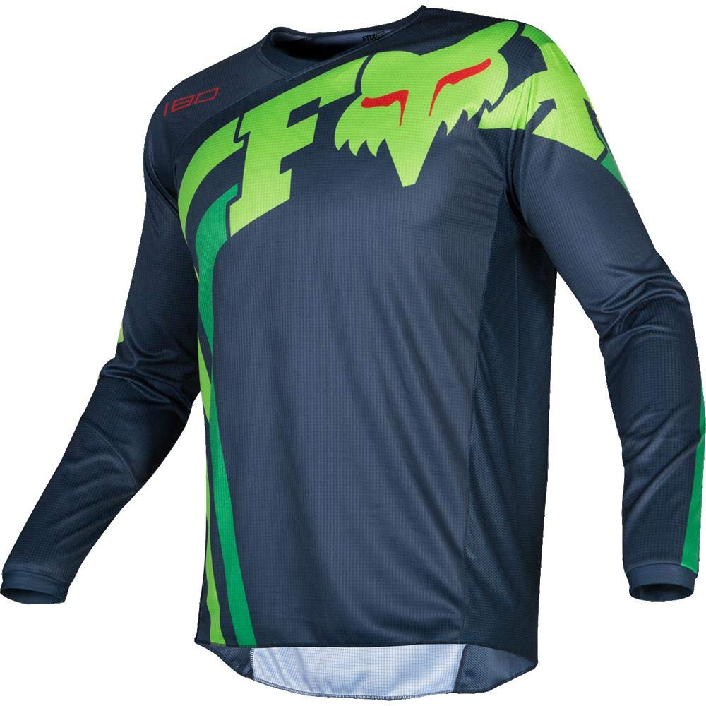 Fox Racing 2019 180 COTA Jersey-Grey//Navy-M