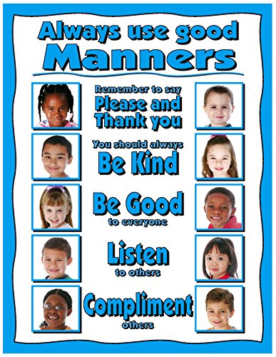 Good Behavior Posters (Always use good Manners 17