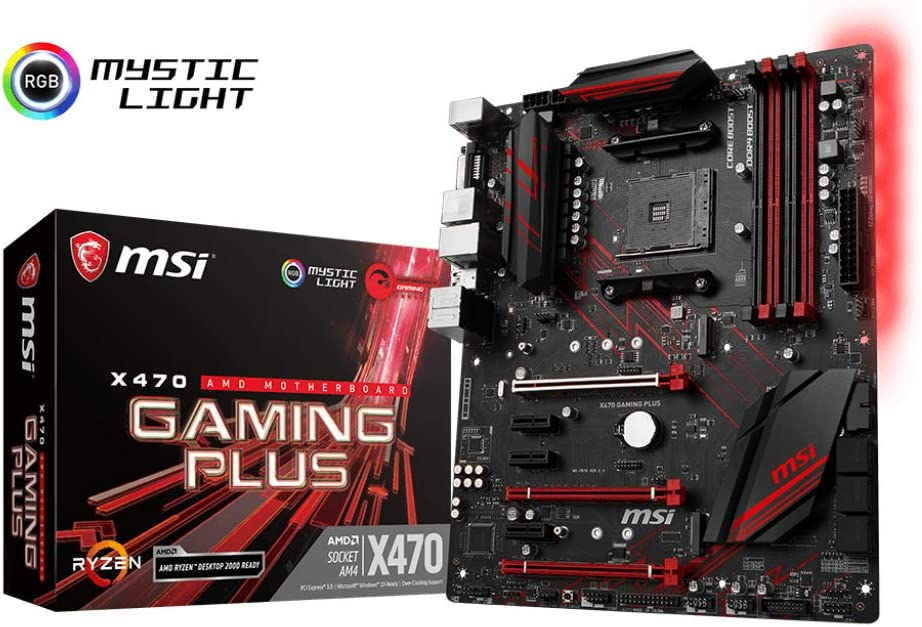MSI Performance GAMING AMD X470 Ryzen