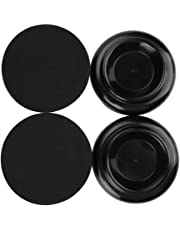 PianoCasterMats, Fafeims,Piano Foot Pads 4Pcs Piano Foot Pads Set Practical Durable Pianos Shoes Leg Cups Accessories for Upright-Piano
