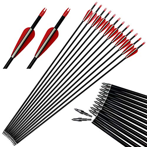 Points & Arrowheads Enthusiastic 2216 Glue-in Target/ Hunting Points For Aluminum Arrows-compound/recurve Archery