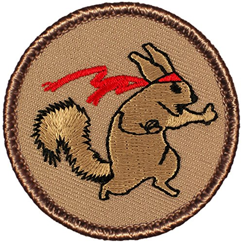 Ninja Squirrel Patrol Patch - 2