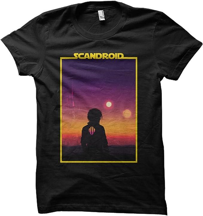 Scandroid - Binary Sunset T-Shirt