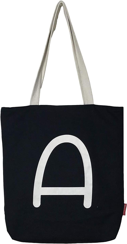 Hello-Bags - Bolso Tote de Algodón con Cremallera, Forro y Bolsillo Interior, 38 cm, Negro: Amazon.es: Equipaje