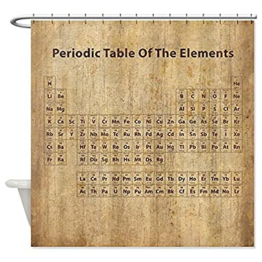 CafePress - Vintage Periodic Table - Shower Curtain