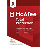 McAfee Total Protection 5 Device [Activation Code by Mail]