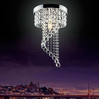 lampadario a sospensione di cristallo moderno con lampada a LED Jorunhe