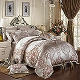 ElleSilk Espresso Mulberry Silk Sheet Sets, the Finest 28 Momme Mulberry Silk, California King Size