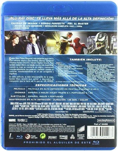 Spider-Man 3(Bd) [Blu-ray]: Amazon.es: Tobey Maguire, Kirsten ...