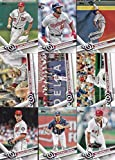Washington Nationals 2017 Topps Complete Mint Hand Collated Team Set with Bryce Harper and Max Scherzer Plus