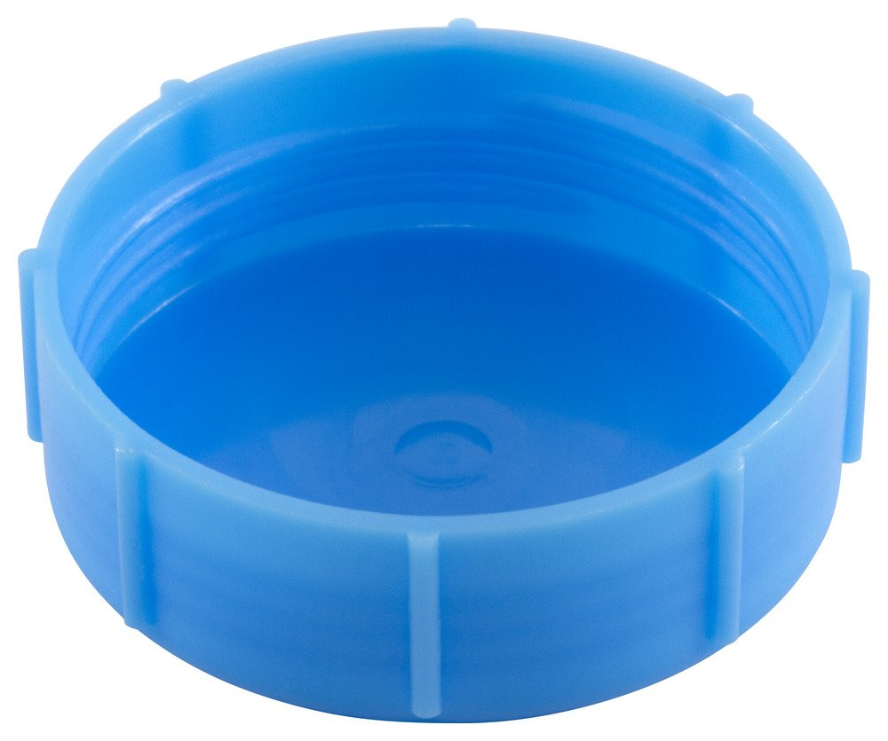 Caplugs ZDC41KB1 Plastic UN/UNS Cap To fit thread size 7/16-24'' DC-4, HDPE, To Fit Thread Size 7/16-24'', Blue (Pack of 200)