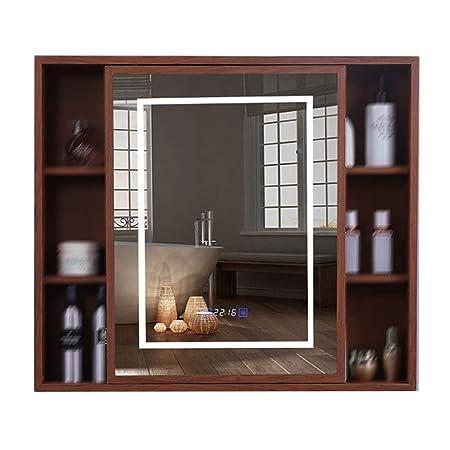 Mobile Specchio Da Bagno.Dzwlyx Mobile Bagno Sospeso Mobile Specchio Da Bagno Bianco 1