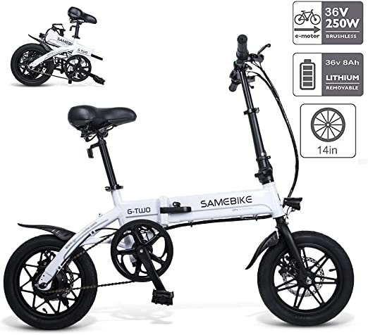 Braveking Bicicleta Electricas Plegables, Bicicleta Eléctrica ...