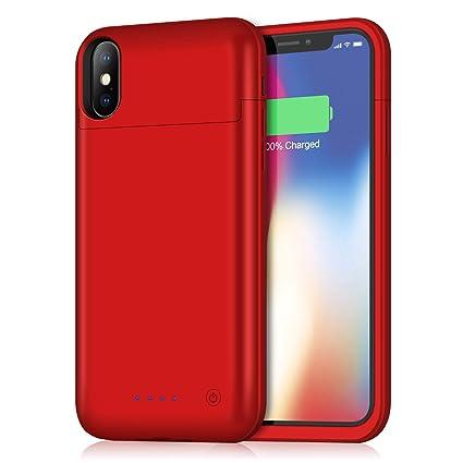 Amazon.com: Xooparc - Funda con batería para iPhone X/XS ...