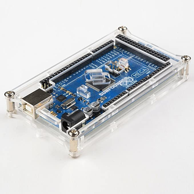 19 opinioni per SunFounder Mega 2560 Case Enclosure Transparent Gloss Acrylic Computer Box