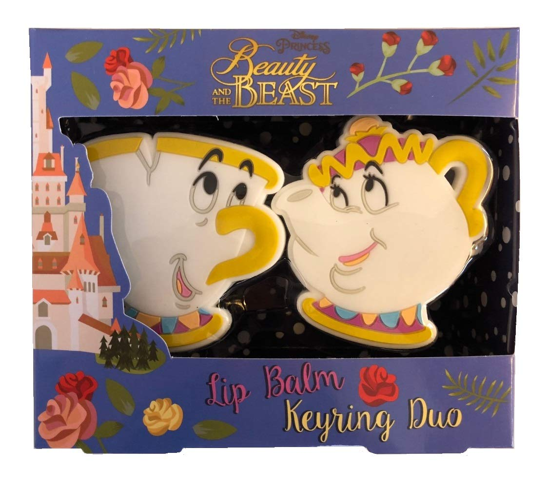 Disney Beauty & The Beast Bálsamo Labial & Llavero Duo Set ...