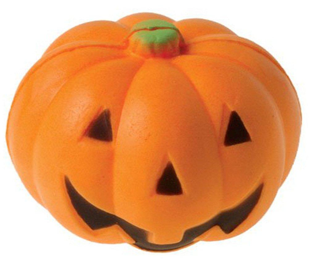 Dozen Halloween Pumpkin Jack O Lantern Stress Squeeze Balls US Toy