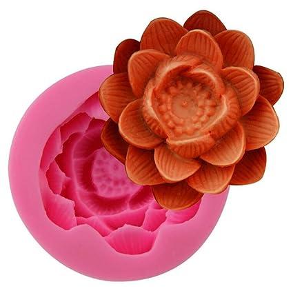 Amazoncom 3d Blooming Chrysanthemumslotus Flower Handmade Soap