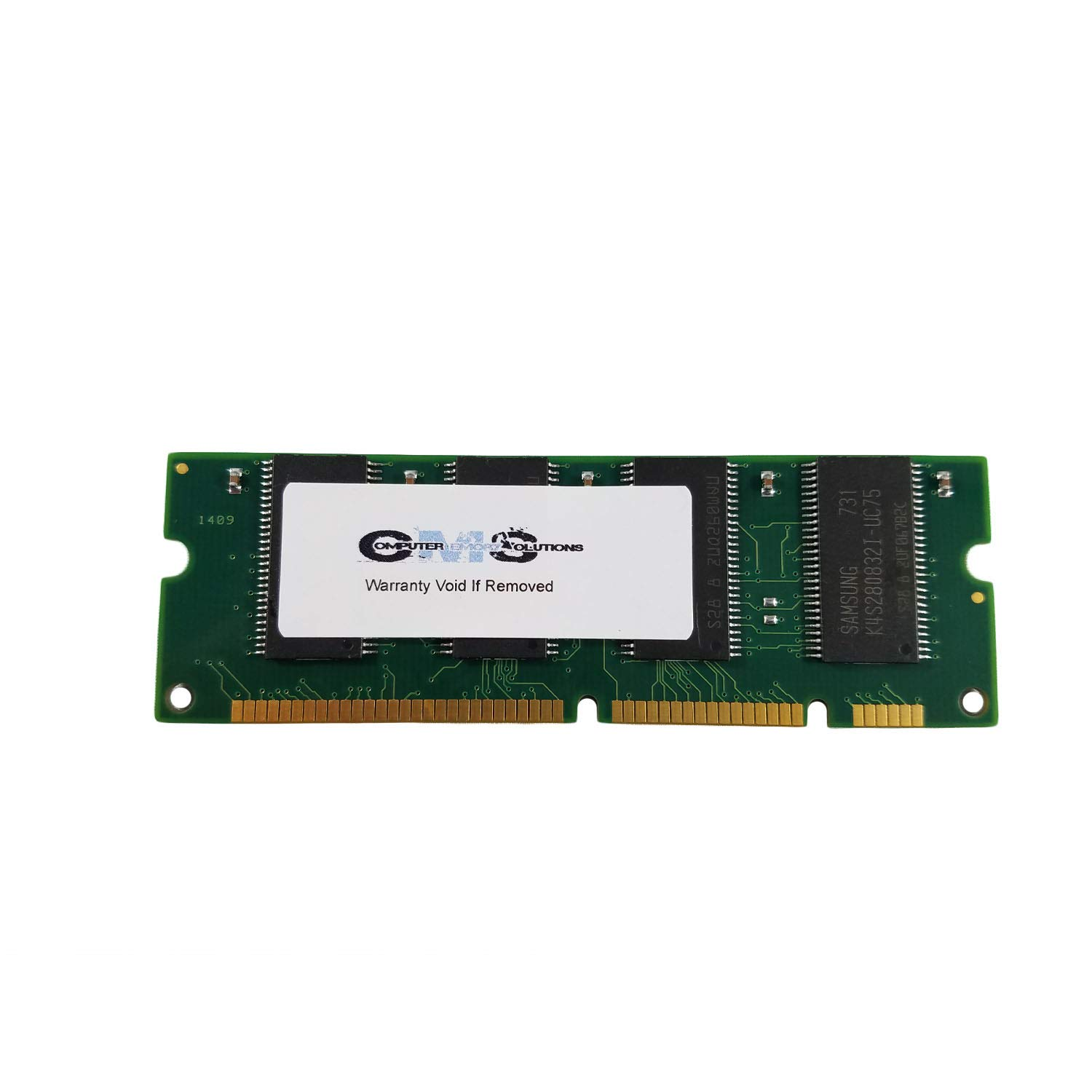 128Mb 100Pin Memory Ram Compatible with Hp Laserjet 5100, 5100Dtn, 5100Le, 5100Tn By CMS B98