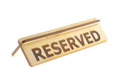Letrero de madera para restaurantes, bares y cafeterías