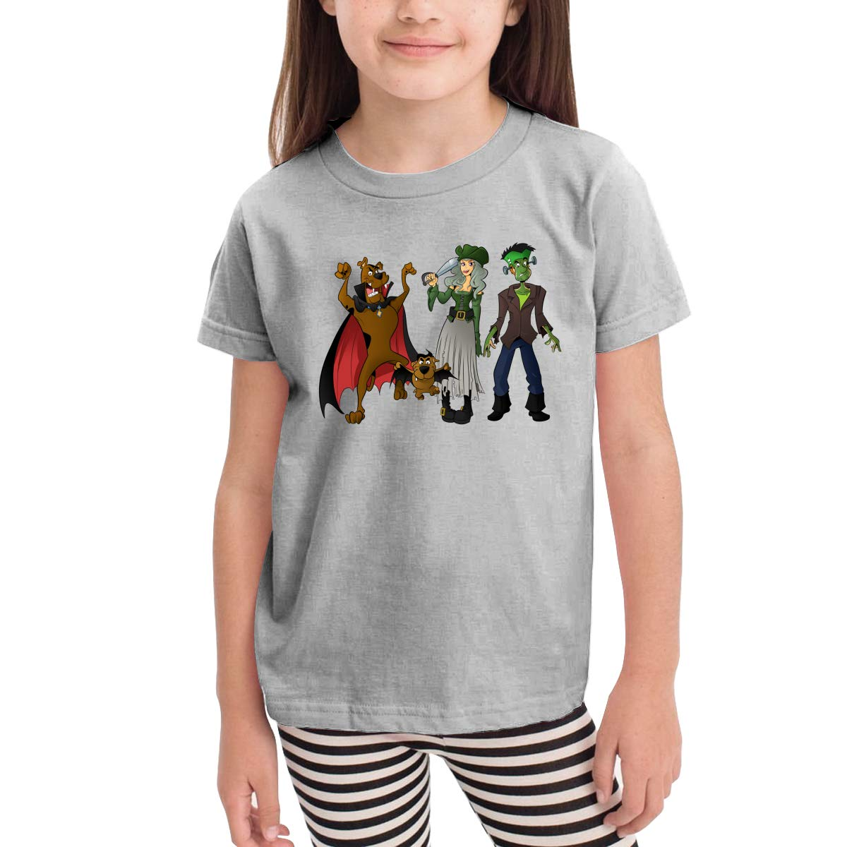 Halloween Scooby-doo Kids Crew Neck 100/% Soft Cotton Short Shirts Tees T-Shirts