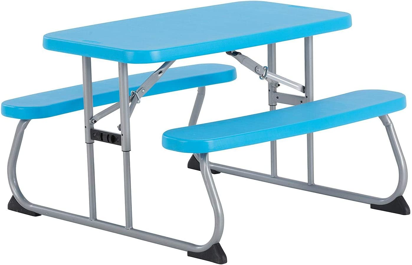 - Amazon.com : Lifetime Kid's Picnic Blue Table Bundle : Garden
