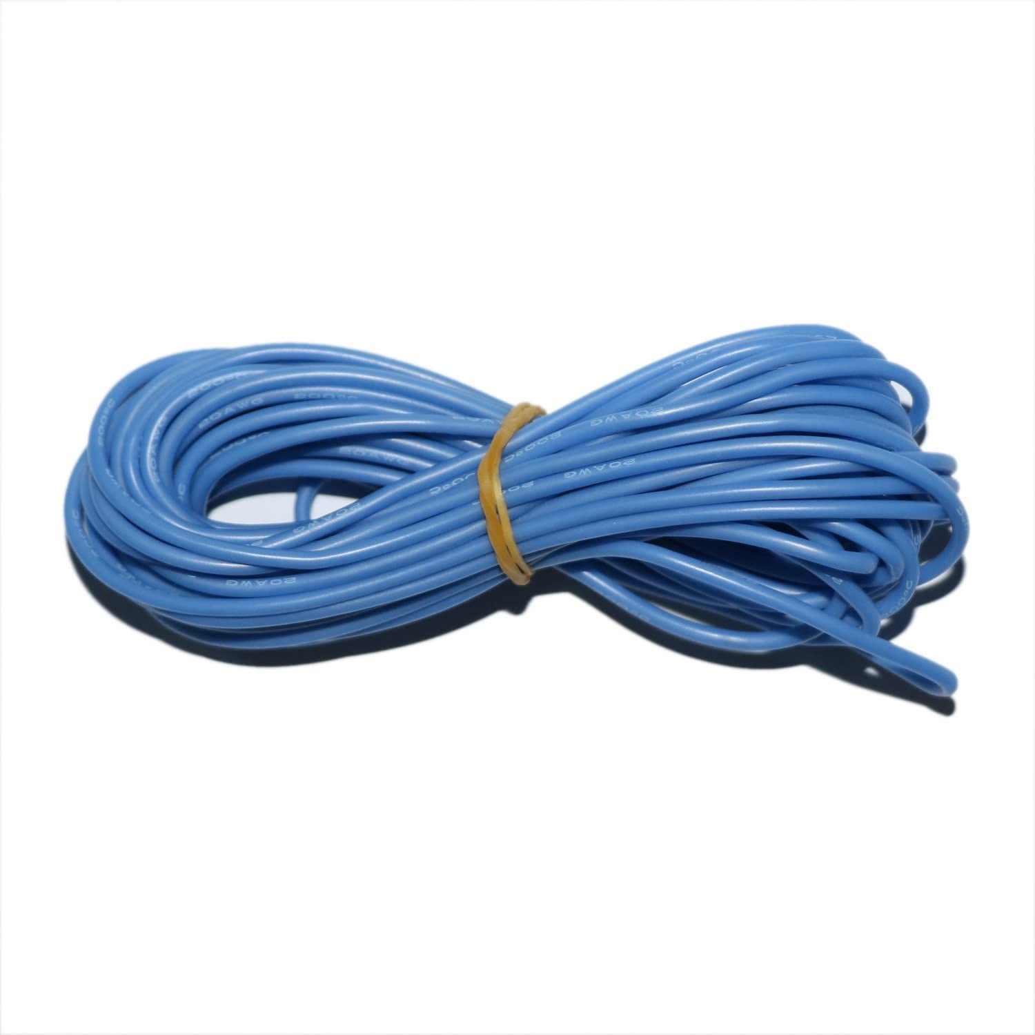Flexible Silicone Red//Green//Blue//Yellow//Black Electrical Wire Cable 30-18 awg