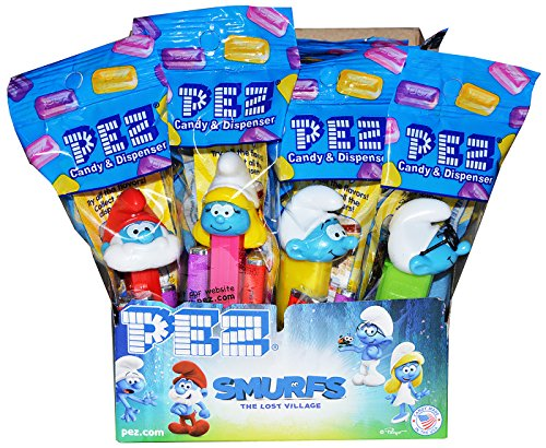 (Pez Smurfs Candy Dispenser (Pack of)
