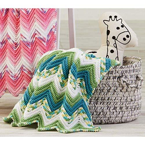 Herrschners® Lily Pond Baby Blanket Yarn Kit