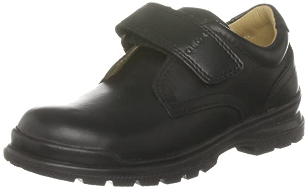Geox J William Q Garcons Chaussures en cuir - Noir Black 1 CY3hHCMvSI