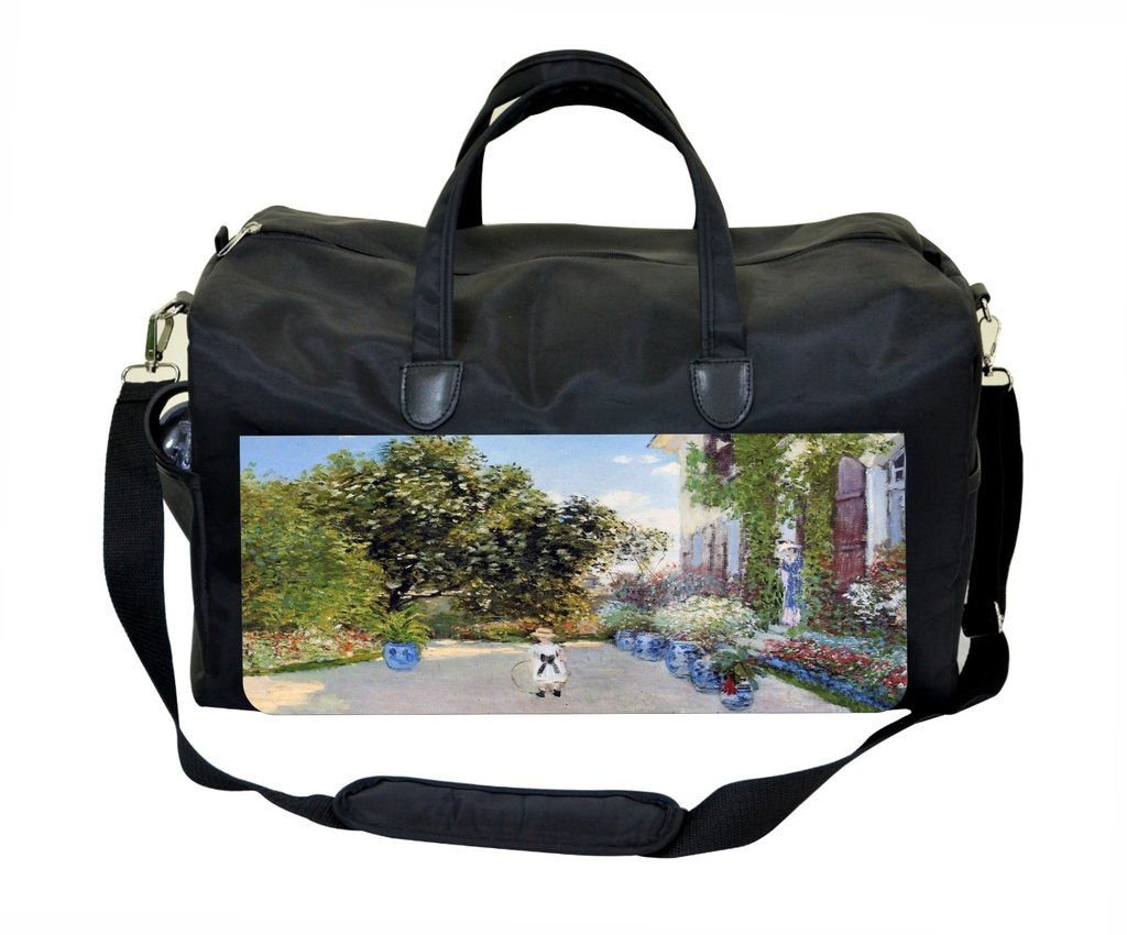 Monet The Artists House at Argentuile Sports Bag