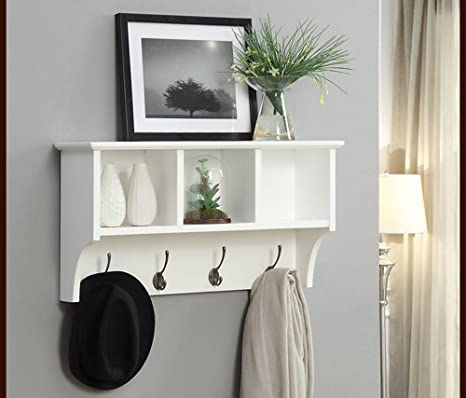 Amazon.com: Coat racks / racks Shelf shelves, wall hangings ...