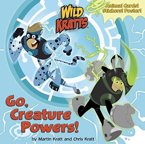 Go, Creature Powers! (Wild Kratts) (Pictureback(R)) [Chris Kratt - Martin Kratt] (Tapa Blanda)
