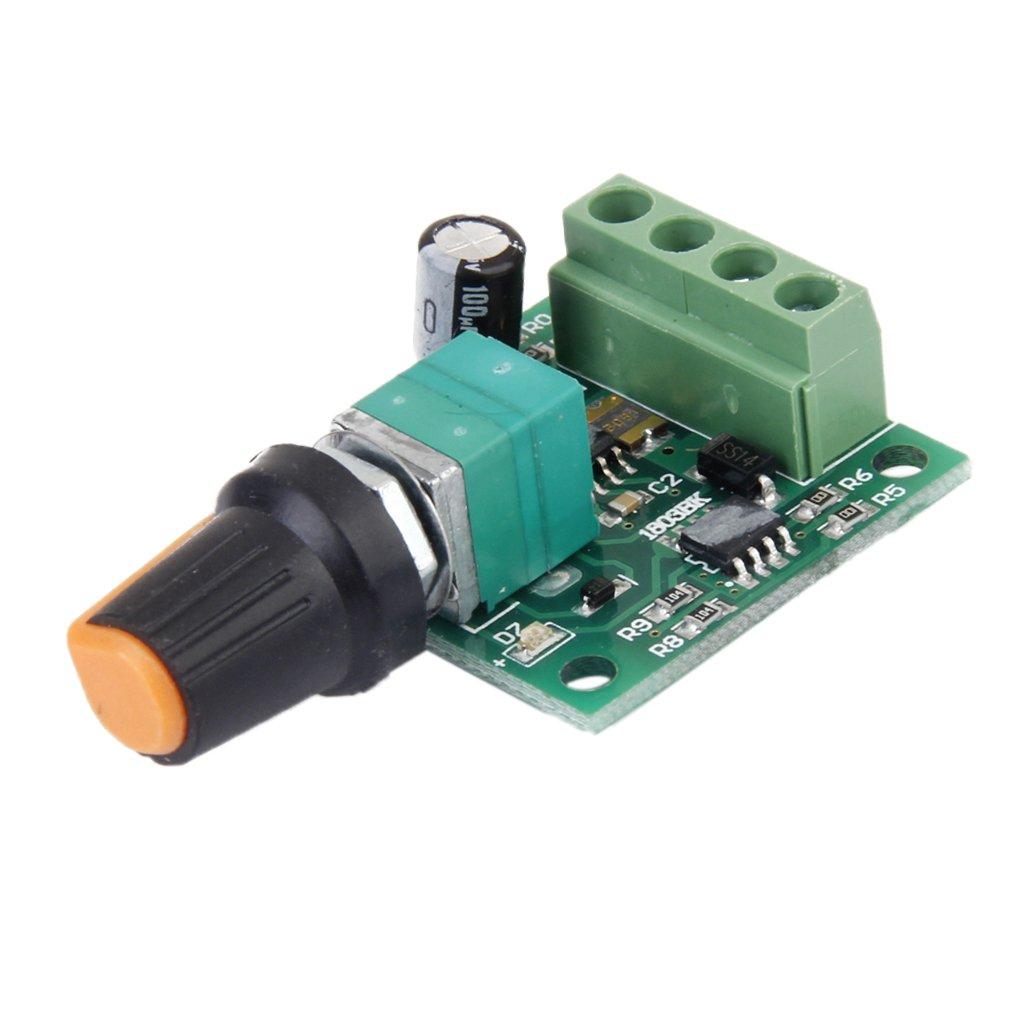 Blesiya 20A DC 12v Variable Speed Motor Controller for Speed Regulation