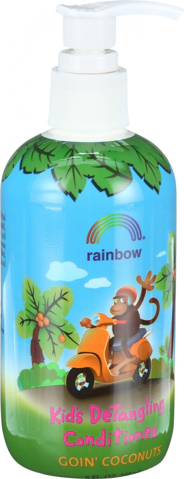 Rainbow Research Kids Detangling Conditioner - Goin Coconuts - 8 oz - Gluten Free -