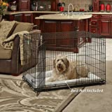 Midwest iCrate Double Door Crate with Divider for Pets, 42-Inch