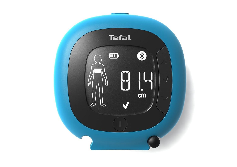 Tefal BODY PARTNER Báscula personal electrónica Rectángulo Azul, Blanco - Báscula de baño (Báscula personal electrónica, 180 kg, 100 g, kg, Rectángulo, ...