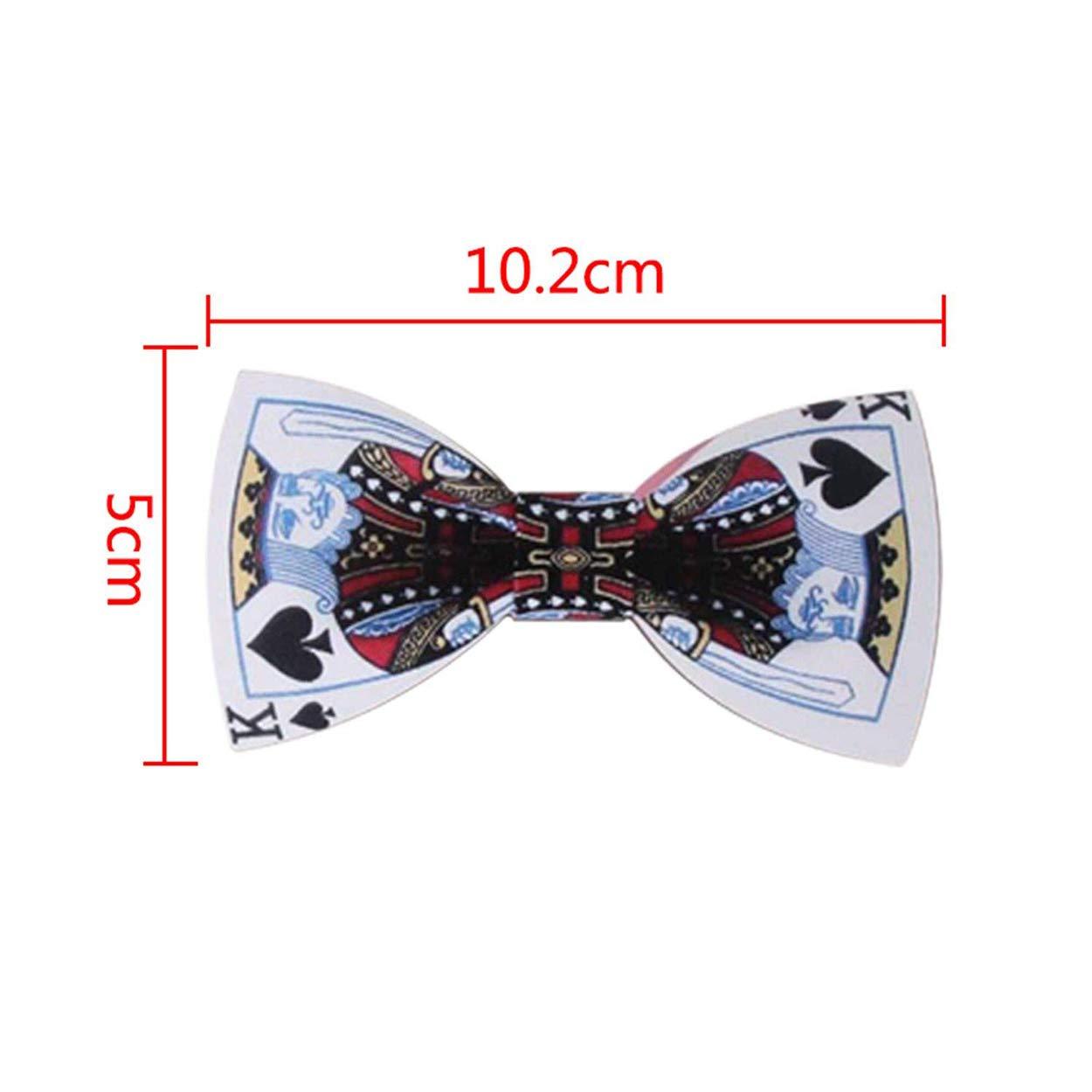 Moda Graffiti Pintura madera elegante Gentleman Papillon Papillon Wedding Corbata /única de madera para hombre p/óker