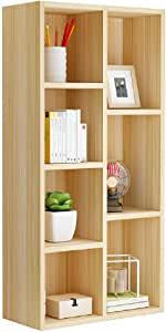 Corner Shelf Simple Bookcase Bookshelf Landing Shelf Solid Wood Storage Free Combination 60 * 20 * 120cm
