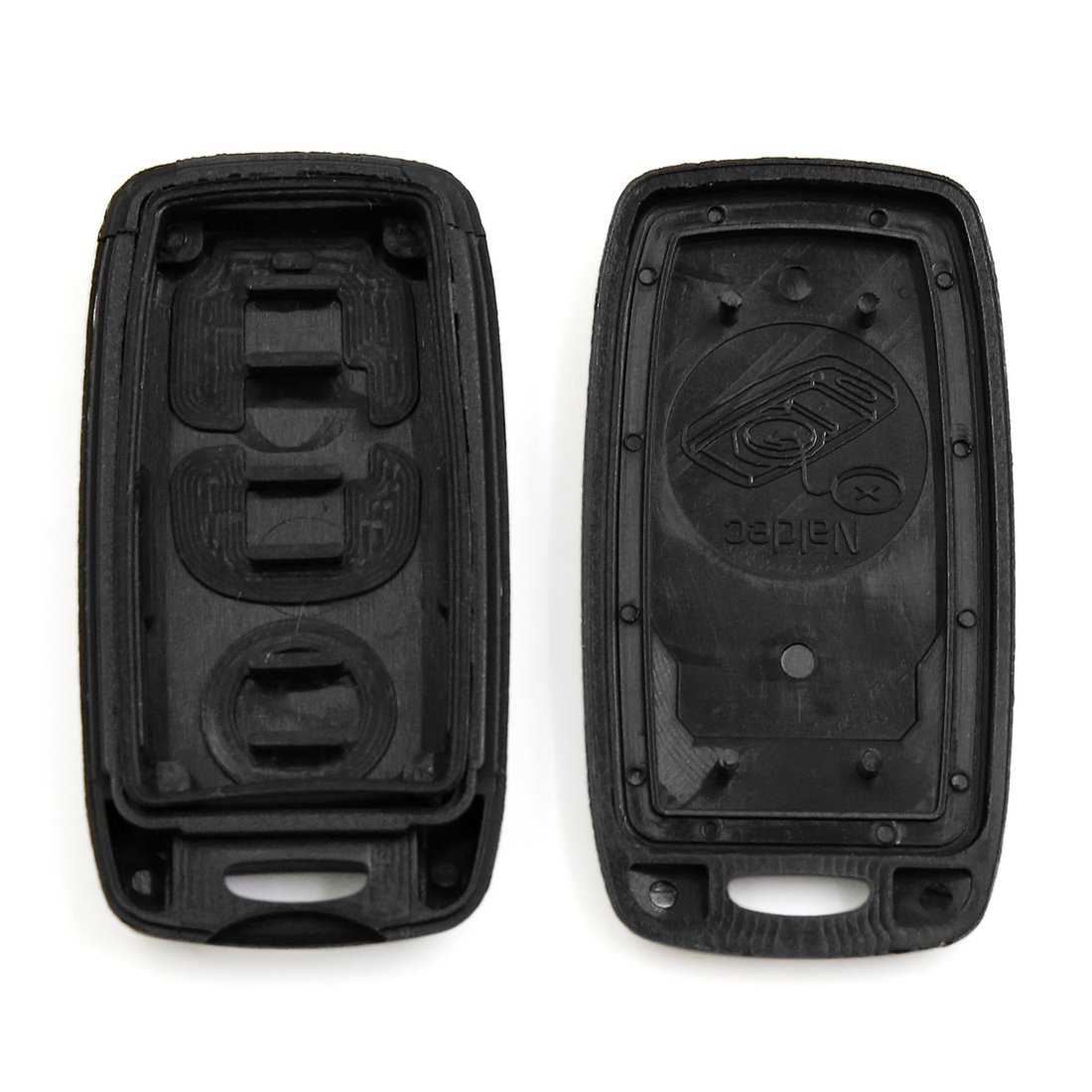 uxcell/® 2pcs 3 Buttons Key Fob Remote Control Case Shell Replacement KPU41794 for Mazda 3 6 Protege