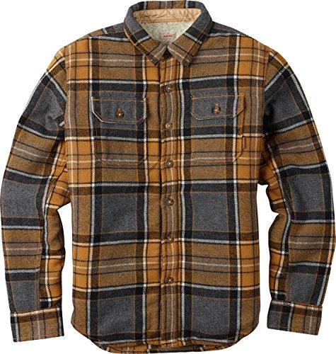 BURTON Boys Cole Jacket, Inca Pitkin Plaid, Medium - Inca Blue Jackets