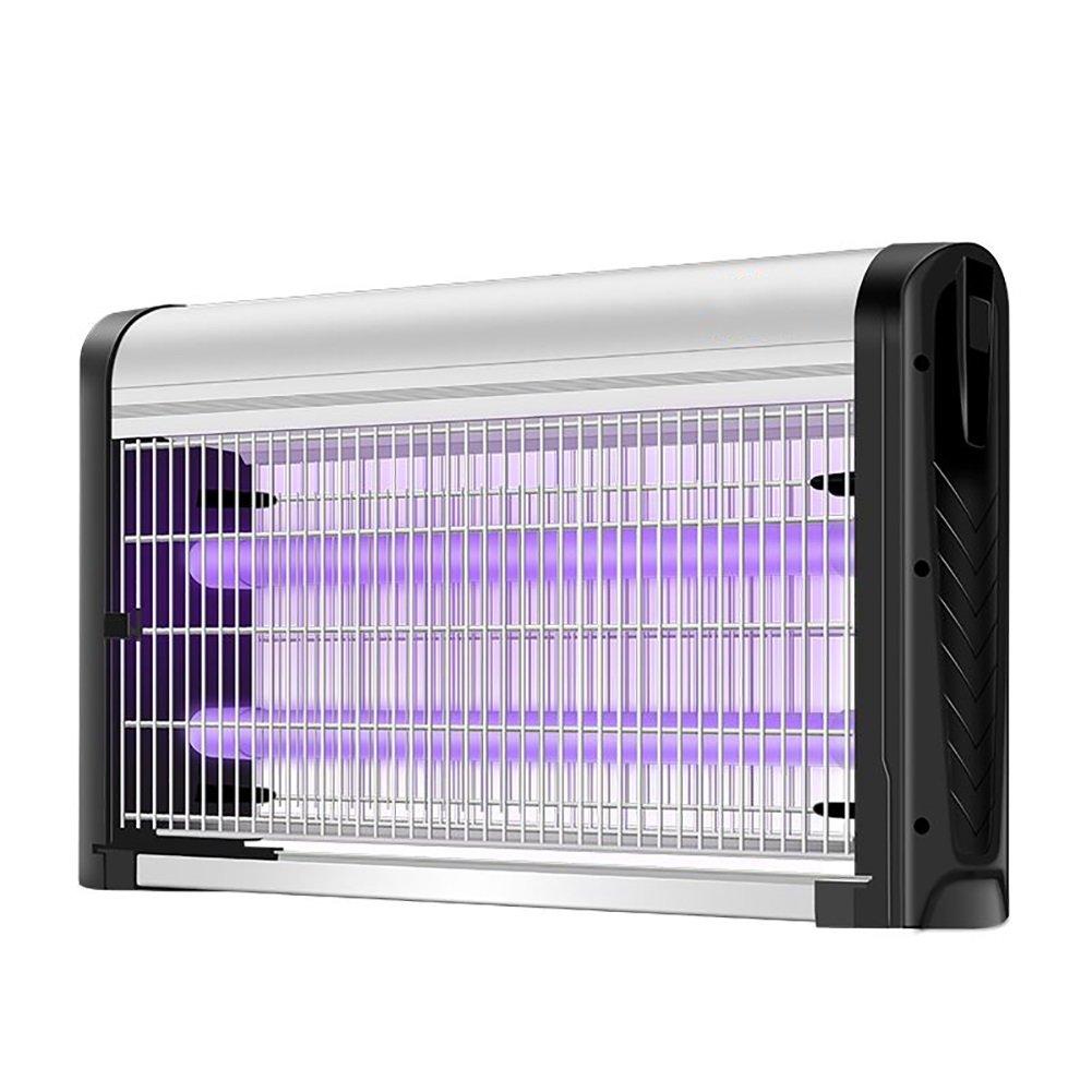 GUOWEI 蚊ランプ電撃殺虫灯 LEDライト 電気ショック アルミニウム合金 ウォールマウント 省エネ ベース操作 屋内 3モデル (色 : シルバー しるば゜, サイズ さいず : 67.7x9.5x32cm-2*4W) B07DRH3B3K 67.7x9.5x32cm-2*4W|シルバー しるば゜ シルバー しるば゜ 67.7x9.5x32cm2*4W