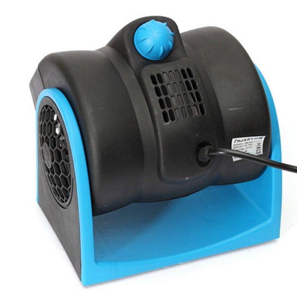 Bleu VORCOOL 12V Portable Mini Auto Voiture Climatiseur Turbo Ventilateur De Refroidissement Super Silencieux Silencieux Ventilateur 2-Vitesse R/églable Ventilateur dair De Voiture sans Lames