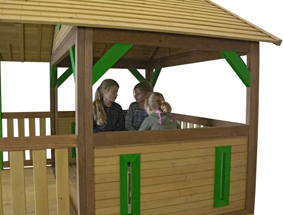 Beauty.Scouts Tabby - Casa de juegos de madera con porche ...