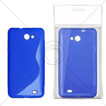 best loved fdf0d 6c1fd EGO S-CASE BACK COVER FOR SONY XPERIA ION LT28h () (BLUE): Amazon.co ...