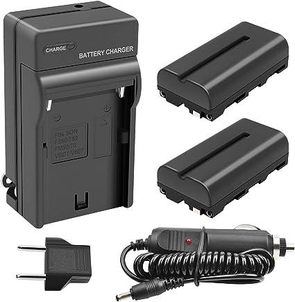 Amazon.com: turpow 2 Pack de 2900 mAh Sony NP-F550/NP-F570 ...