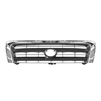 2fbe84691d7da Amazon.com: Grille Chrome & Black Center for 97-00 Toyota Tacoma Pre ...