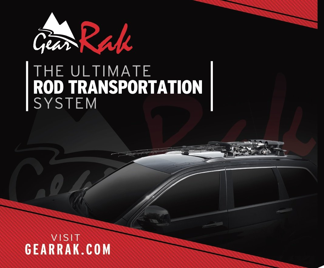 GearRAK Ultimate Fishing Rod Transportation System for Car & SUV roof racks